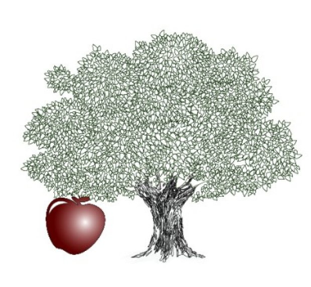 Tree with apple