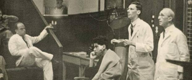 Arthur Bloomfield teaching