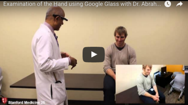 Using Google Glass to Examine the Hand with Dr. Verghese