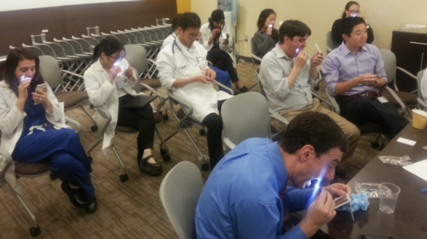 Dr. Ahuja Leads a Stanford 25 Session on the Oral Exam