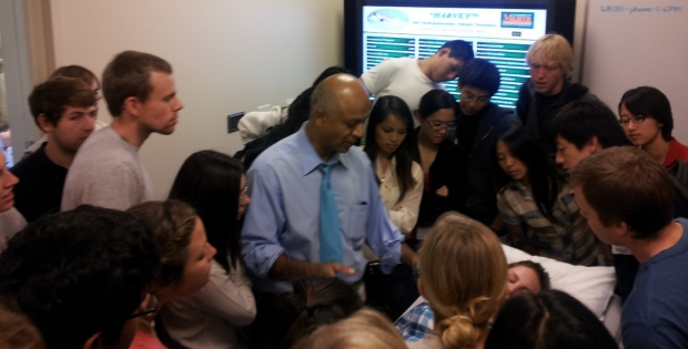 A teaching moment with Abraham Verghese