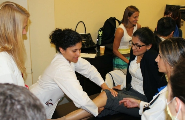 Teaching the importance of the physical exam