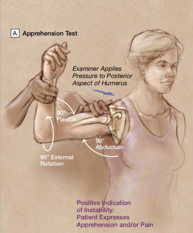 Apprehension test