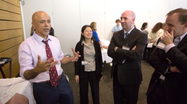 abraham verghese with participants