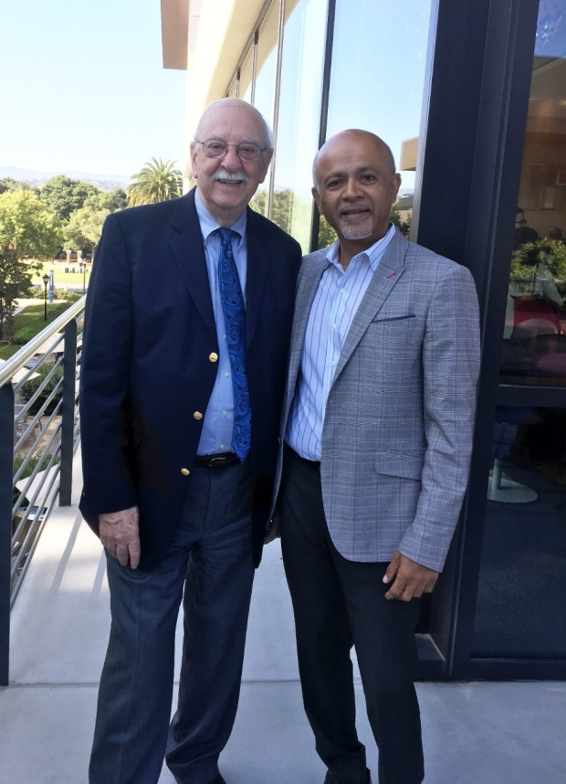 Dr. Abraham Verghese and Dr. Jerome Kassirer