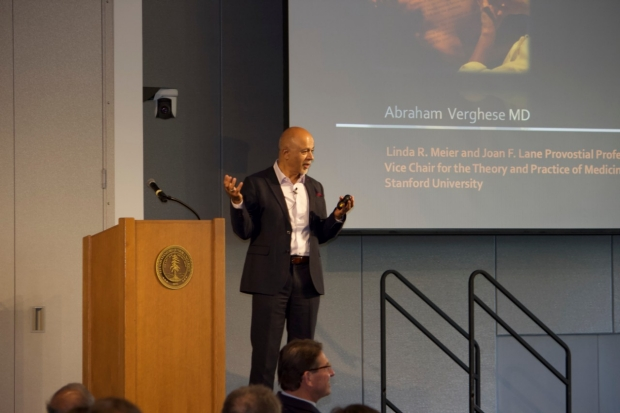 Abraham Verghese discusses Bedside Medicine rules