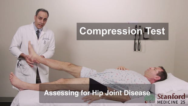 compression foot test