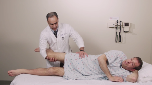 ober test in iliotibial band syndrome